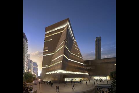 Tate Modern extension, Herzog & de Meuron